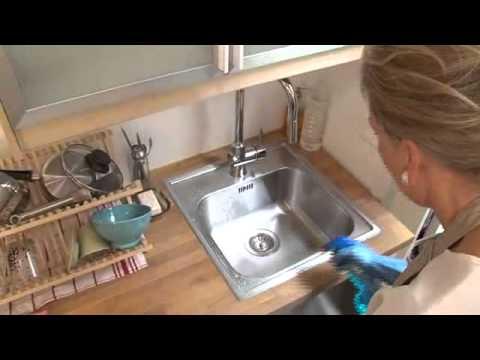 Comment entretenir un évier en inox