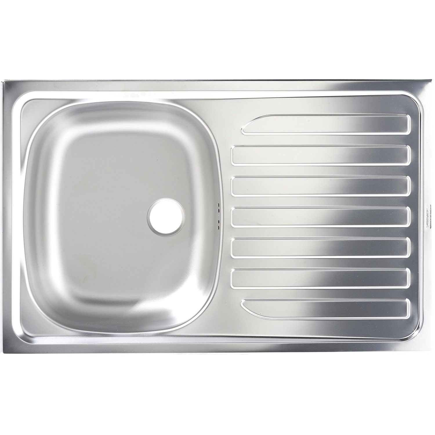 Evier Inox Nid D Abeille 1 Bac Franke Pearlfection Fr